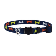 Pet Supplies Adjustable Cat Collar With Bell Safety Buckle Kitten Small Dogs Cats Printing Collars HG99