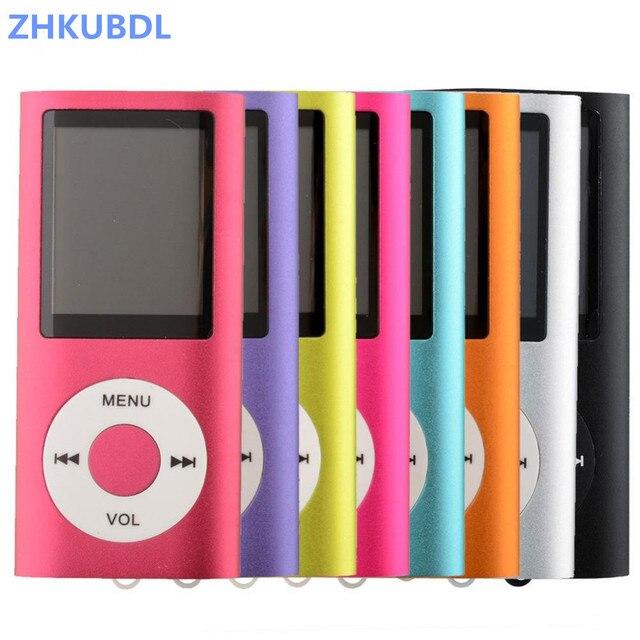 """ZHKUBDL nouveau 4TH 1.8 """"LCD MP4 lecteur vidéo Radio FM lecteur MP4 avec 2GB 4GB 8GB 16GB 32GB SD TF carte livraison gratuite"""