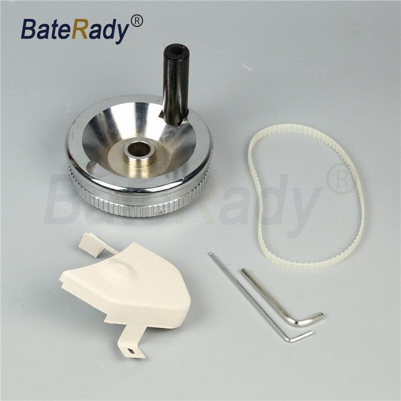 Roue de poignée latérale de machine à coudre BateRady 106-RP roue d'équilibre/roue de poignée pour les pièces de machine à coudre de pied de marche