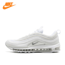 Nike Air Max 97 Men's Breathable Running Shoes,Original New Arrival Official Sports Sneakers Men's Tennis Classic Breathable