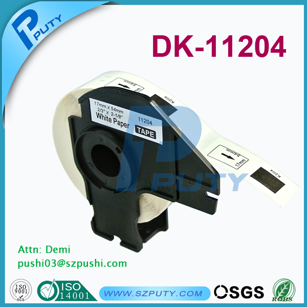 PUTY factory direct sale DK label tape DK 11204 DK 22210 and DK 22211 with competitive