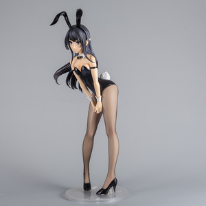 Image 5 - 39.5 センチメートルセクシーガール図アニメいたずらません夢のバニーガール Senpai Sakurajima 舞 PVC アクションフィギュアアニメフィギュア模型玩具