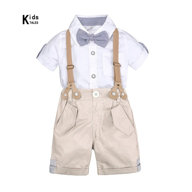 74da292b0 Set of clothes for little boys summer kit for kids Shorts Shirt 1 to ...