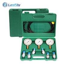 hydraulic pressure gauge test kit Excavator pressure test pressure test gauges hydraulic testing equipment