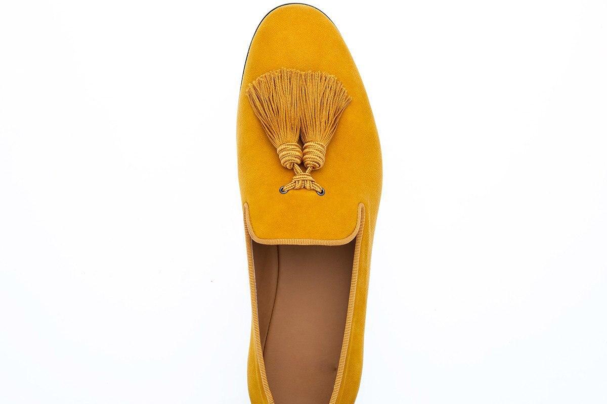 Zapatos planos de Hombre Zapatos de vestir de negocios zapatos de hombre negro slip on tassel boda Hombre Zapatos - 4