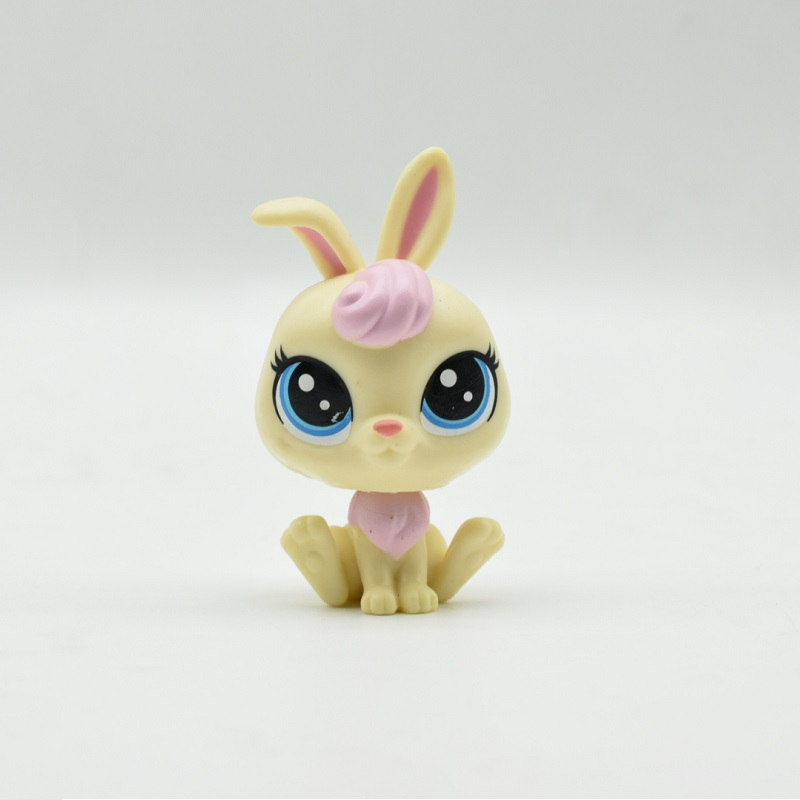 LPS Toy Shop Cute White rabbit Big eyes Action Figure PVC LPS Toys for Children Birthday/Christmas Gift lps new style lps toy bag 32pcs bag little pet shop mini toy animal cat patrulla canina dog action figures kids toys