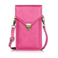6.3 ''Phone Çanta Iphone Için Evrensel PU Deri Çanta Crossbody Çanta samsung galaxy için 7 7 artı fanny paketi çanta S8 S8plus çanta