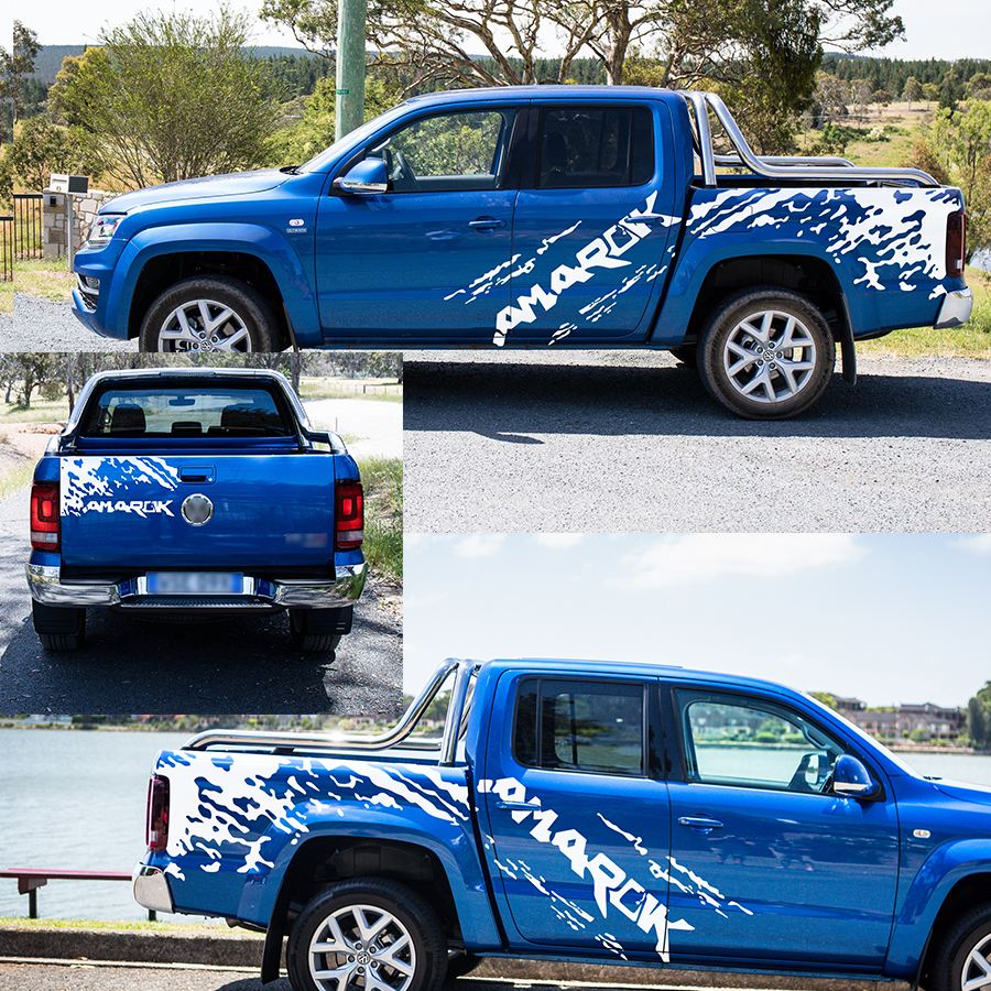 Sticker Decal for Volkswagen VW Amarok pickup Stripe Graphic door body indicator