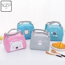 XZP мультфильм детская еда изоляционная сумка портативный водонепроницаемый тепловой Оксфорд сумки для обедов удобный досуг милый Пикник Открытый Tote
