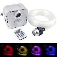 32w RGB Twinkle LED Fiber Optic Star Ceiling Light Kit 0.75mm*800/1000pcs Optical Fiber starry sky ceiling lighting