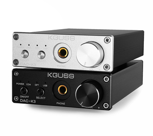 KGUSS DAC-K3 TPA6120 CS4398 2.0 MINI HIFI USB DAC Decoded Audio Headphone Amplifier 24BIT 192KHz OPA2134 AMP DC12V US/EU/UK