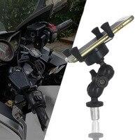 For SUZUKI GSX1300R HAYABUSA GSXR1000 GSX R1000 2005 2016 Motorcycle Accessories GPS Navigation Frame Mobile Phone Mount Bracket