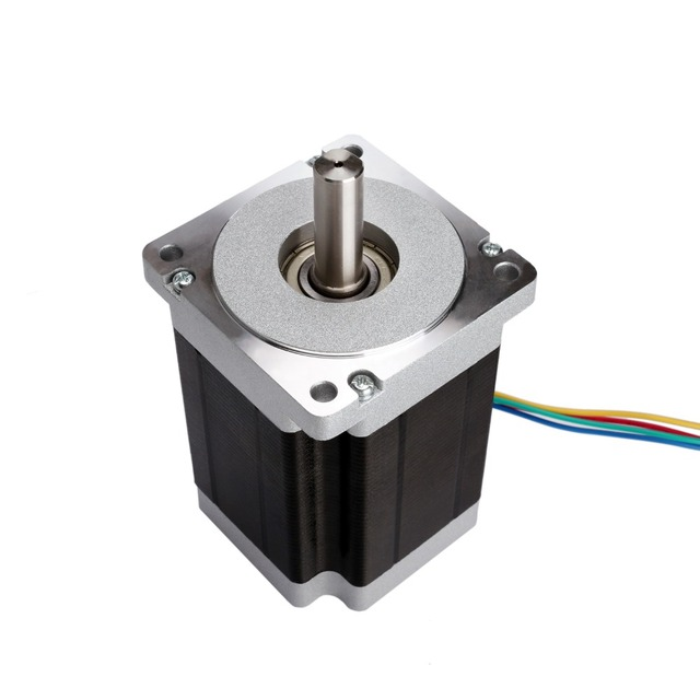 Free Ship to US/EU 3PCS Nema 34 Stepper Motor single shaft 1232oz-in 5.6A 118mm CNC Mill Cut Laser Engraving