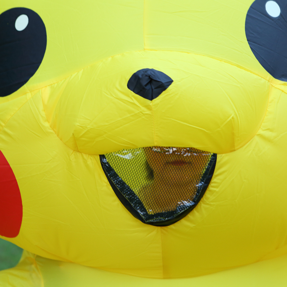 Inflatable Pikachu Costumes Purim Carnival Costume Mascot Costume Halloween Cosplay Costumes for Kids Adults