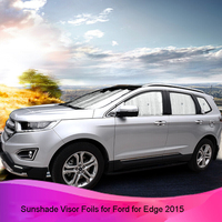 Kust 8 PCS/1 PC Parasol Car Cover Foils Sunshade for Ford for Edge 2015 Sun Shade Visor Covers for Edge 2016 2017 Auto Accessory