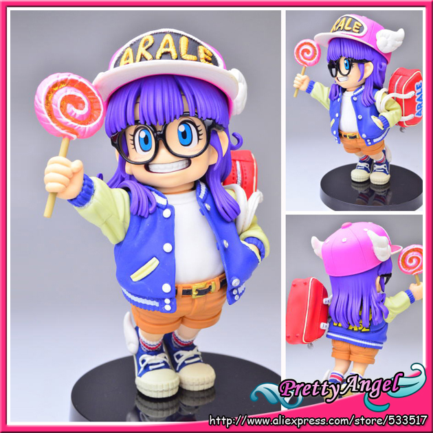 Japanese Anime DRAGONBALL Dragon Ball Z/Kai Original BANPRESTO SCultures Toys Action Figures 4 Arale top bulma bunny girl dragon ball japanese anime figures action