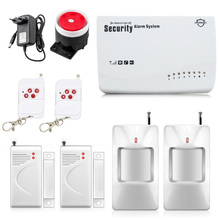 Free Shipping Wireless GSM Alarm System font b Security b font font b Home b font