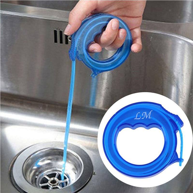 Drain Sink Cleaner Bathroom Unclog Sink Tub Toilet Snake ...