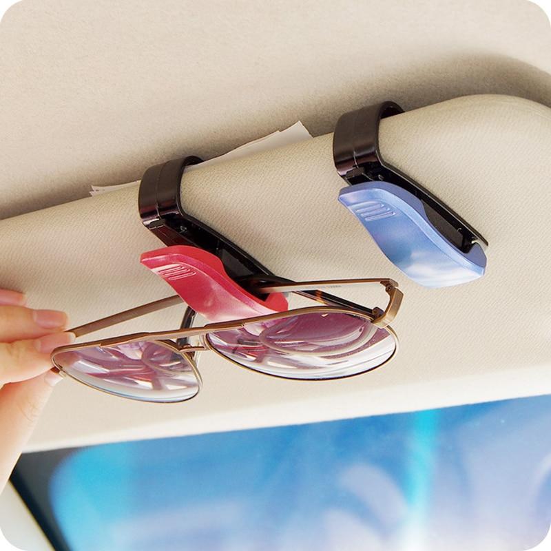 Vanzlife Portable Utility Vehicle Glasses Hook Clip For The Car Bills Car Visor Clip Card Holder Purse Hooks For Hanging Vehicle