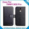 6 Colores ¡ Caliente! 2016 TIMMY M20 Pro Case, Caso Exclusivo Para TIMMY M20 Pro Cubierta de Cuero de alta Calidad Bolsa de Teléfono de Seguimiento