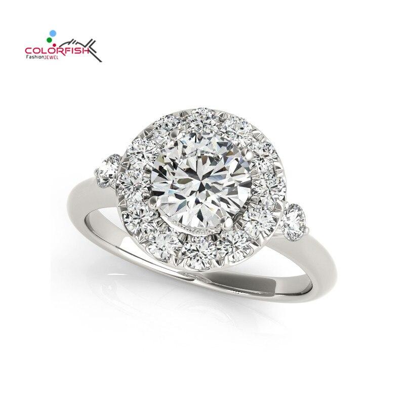 COLORFISH Hot Sale Fashion Luxury Women Engagement Ring