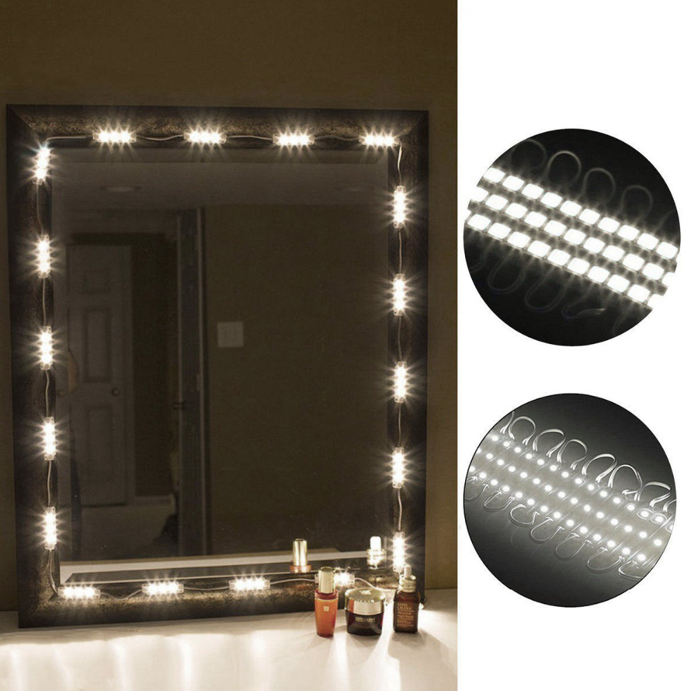 Mirror Light Kit 10FT Vanity Make up Light DIY LED Light ...