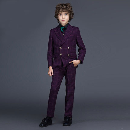 2016 new arrival fashion baby boys kids blazers boy suit for weddings prom formal spring autumn purple dress wedding boy suits 5pcs high quality 2016 baby boys kids blazers boy suit for weddings prom formal sequin dress wedding performance clothing suits