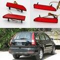 Carro-styling 2 pcs reflectorstop traseiros bumper luz led de freio luz de nevoeiro para honda crv c-rv 2007 2008 2009