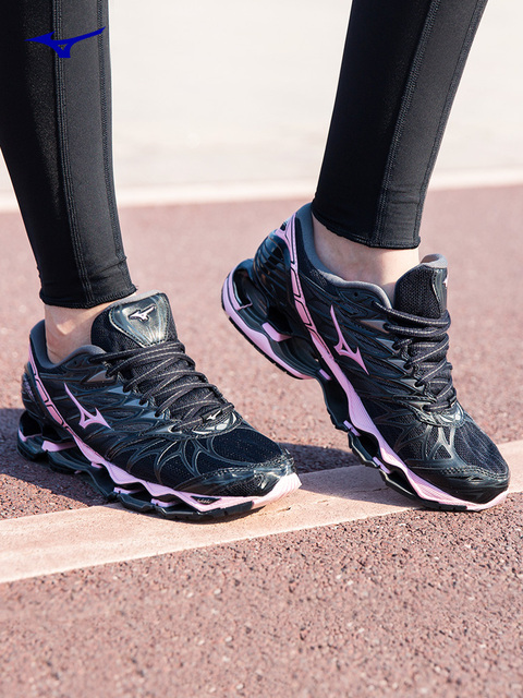 5b9eb36c42f7 ... free shipping original mizuno women prophecy 7 running shoes wave  cushion sneakers breathable sports shoes j1gd180064
