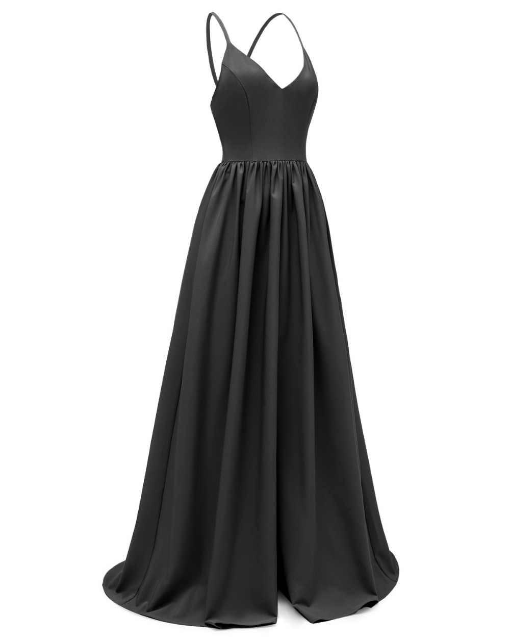 Однотонное платье Макси без рукавов с v-образным вырезом и высокой талией, вечерние элегантные летние женские длинные платья