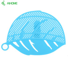 Leaf Shape Rice Strainer Sieve Beans & Peas Cleaning Gadget Strainer for Kitchen Clips Tools Hot Sale