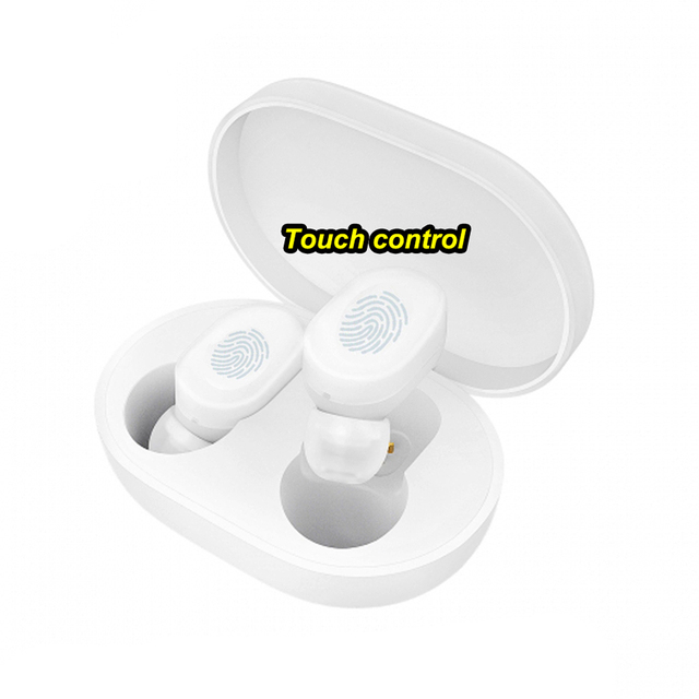 100% Xiaomi AirDots Earphone Touch control Bluetooth Headset Bluetooth 5.0 Xiaomi Mi Earphone Build-in Mic With Charging box