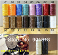 1 roll/lot 260m 1mm width many colors thread for leather jewelry  DIY products nylon thread F698