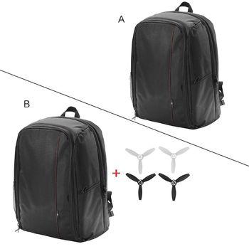 1Set Portable Backpack Travel Shoulder Bag Carrying Case Propellers for Parrot Bebop 2 FPV Drone Accessories 1