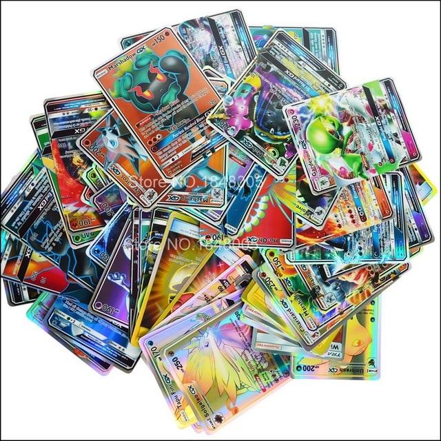 200 Pcs GX EX MEGA pokemones Cards Game Battle Carte 324pcs Trading Cards Game Children Toy