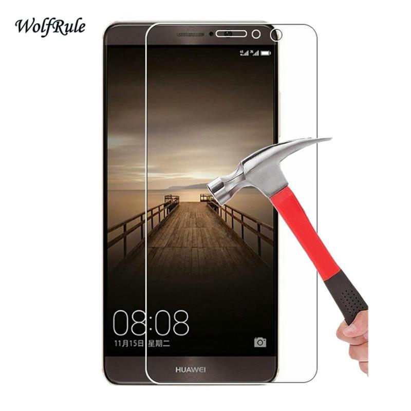 2 pçs vidro para huawei companheiro 9 protetor de tela vidro temperado para huawei companheiro 9 filme de vidro do telefone para huawei mate9 anti risco