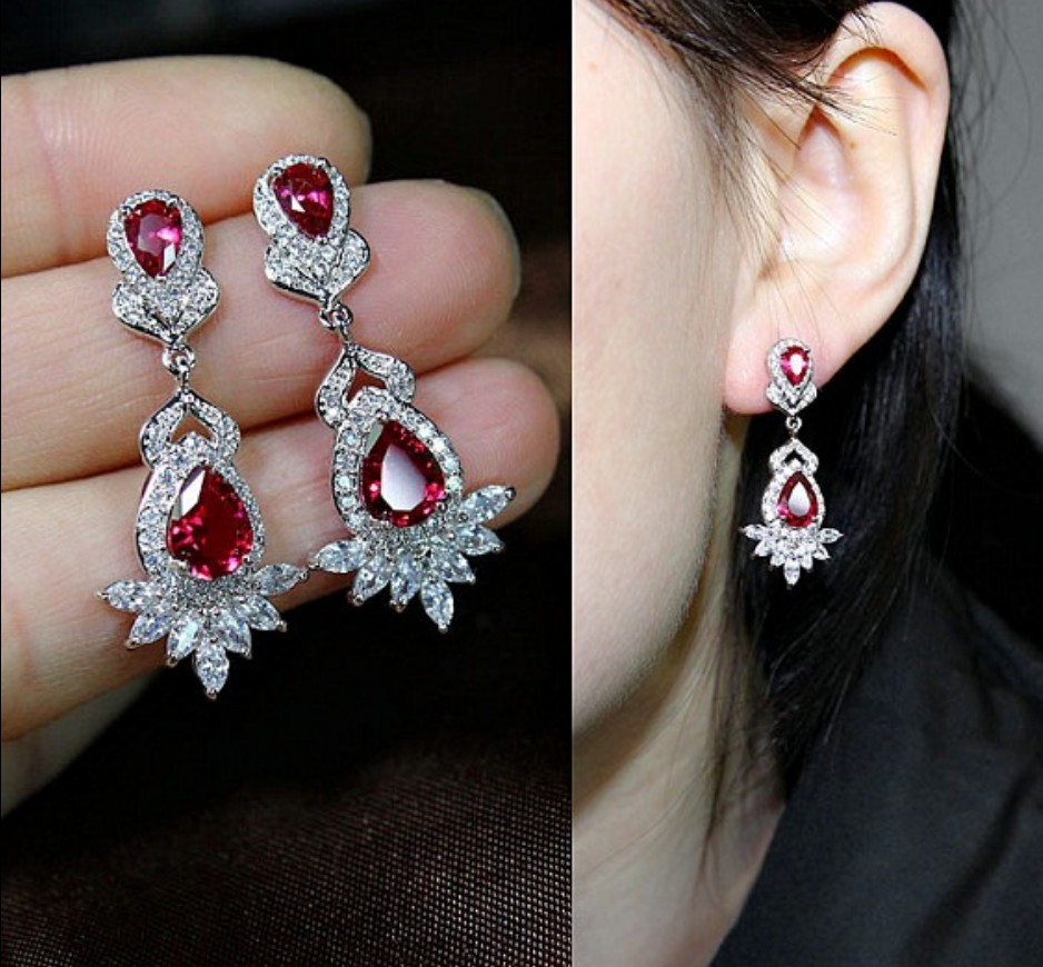 Online Get Cheap Chandelier Earrings Red Aliexpress – Cheap Chandelier Earrings