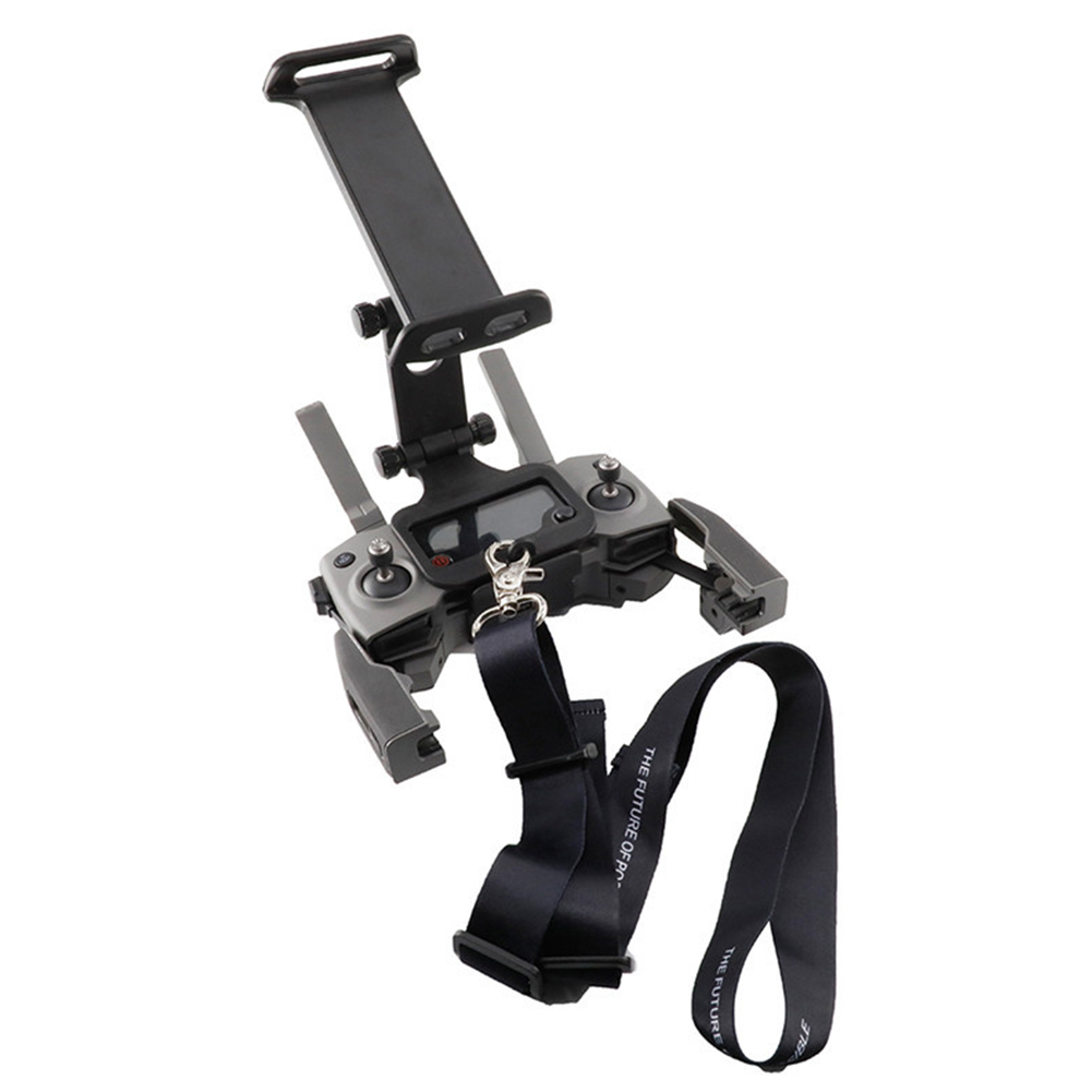 Front Accessories Holder Remote Control Clip Bracket Sling Rope Black Clamp Phone Tablet For Mavic 2