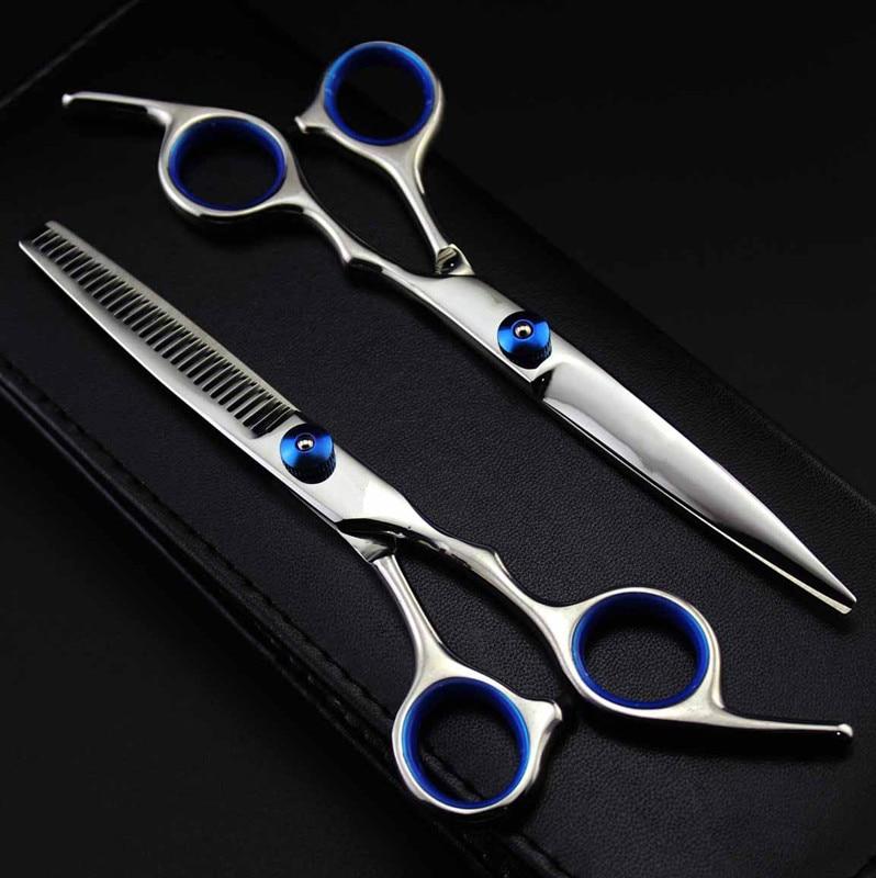 gërshërë flokësh profesionale Japoneze 440c 6cr13 6 inç prerë gërshërë për prerje flokësh prerje prerje prerje flokësh berber floktar