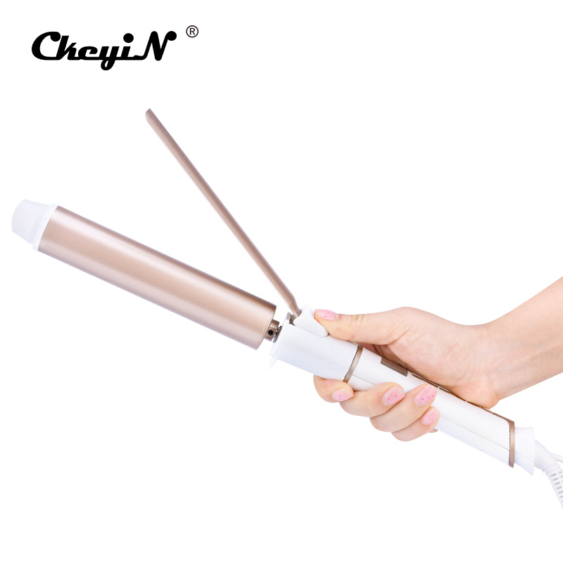 32mm Electric Hair Curler Ceramic Curling iron LED Display Hair Curly Rollers 30s Fast Heating Hair Curling Professional Curler