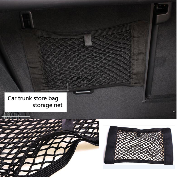 Car Trunk store bag storage net case holder for seat universal for all car