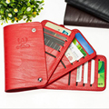 ID Credit Card Wallet Cash Holder Organizer  cardes Pack business cards wallets Pack Bag hasp tarjetero mujer Card & ID Holders