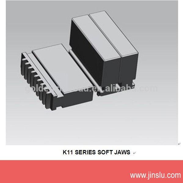 ФОТО K11 series lathe chuck accessories k11-325 soft jaws 1set