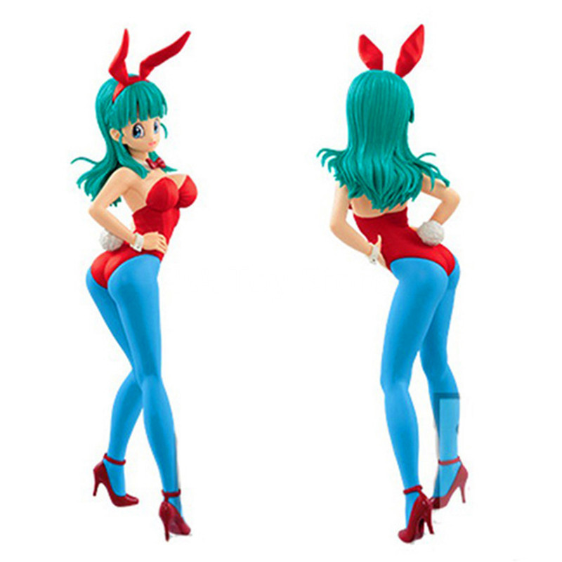 Dragon Ball Z CII Bulma Dragon-Ball Gals Bunny Girl Ver. Bulma PVC Figure Model Toys 20CM Retial Box top bulma bunny girl dragon ball japanese anime figures action