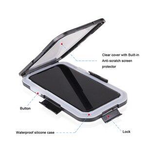 Image 4 - Vmonv Universelle Wasserdichte Motorrad Fahrrad Lenker Telefon Halter Für iPhone X 8 7 Radfahren Bike Handy Fall GPS Shell