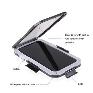 Image 4 - Vmonv אוניברסלי עמיד למים אופנוע אופניים כידון טלפון מחזיק עבור iPhone X 8 7 רכיבה על אופני טלפון נייד מקרה GPS פגז