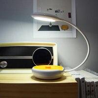 Tragbare LED Nachtlicht-freies USB Aufladbare Energiespar Flexible Hängen Schreibtisch Tisch Studie Lampe CLH @ 8