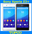 "Sony Xperia Z3 + desbloqueado Quad-core móvil Android Sony Z4 E6553 WIFI GPS 3G & 4G 5.2 ""20.7MP 3 GB RAM 32 GB ROM dropshipping"