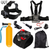 QQT For GoPro Bracket Tripod Mount Mount Adapter For Go Pro Hero 6 5 4 3