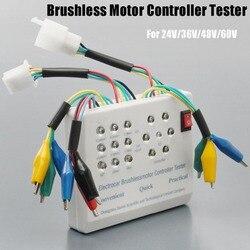 Bici elettrica Auto Motorino Senza Spazzola Del Motore Tester 24 v 36 v 48 v 60 v Con Il Manuale